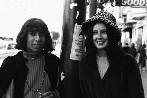 Man and Woman in Haight-Ashbury District