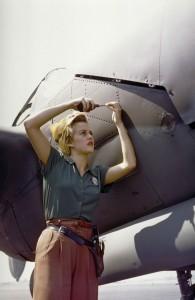 Making a plane Burbank 1944