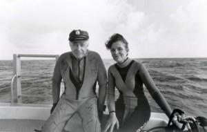 Sylvia and Hugh Downs