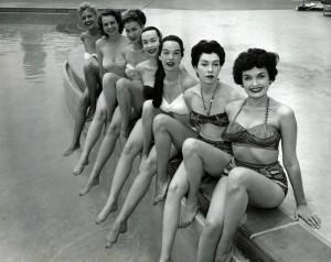 1955-bathing