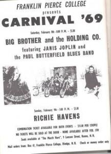 Franklin Pierce College Carnival 9 Feb 69