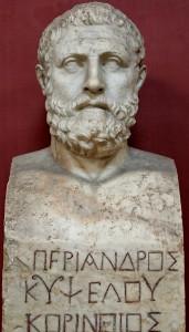 Periander son of kypselos corinthian