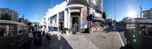 SF street scene