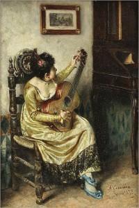 antonio-casanova-y-estorach-spanish-1847-1896-seated-girl-with-guitar-1873_thumb
