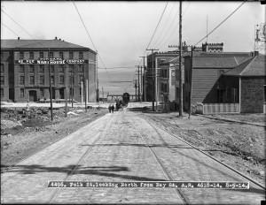 Polk St. north of Bay 1914