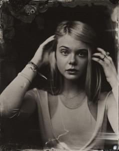 2014 Sundance TIn Type Portraits - Elle Fanning