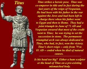Titus head too big