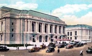 War Memorial Opera House- 301 Van Ness Ave - and Grove, San Francisco, CA COMBO1930s-Today