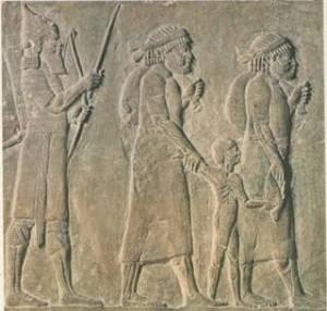hebrews rock carving