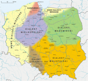 polish language map