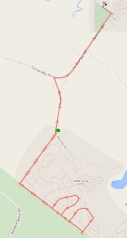 Route 141 – Cooloola Cove Morning School Service