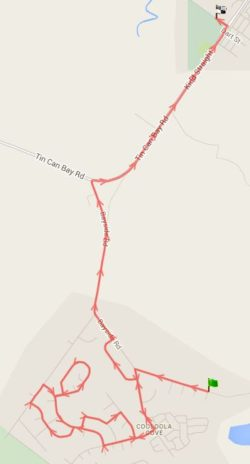 Route 142 – Cooloola Cove Morning School Service