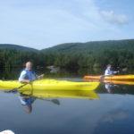 Mom&Dad kayaking