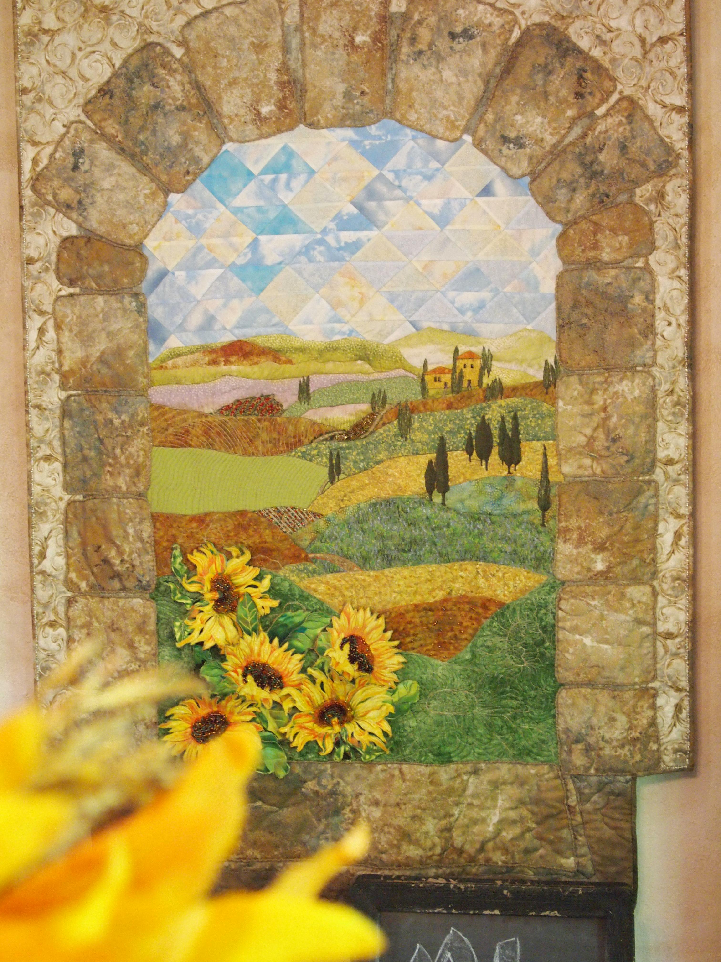 Image of Italian Landscape Quilt