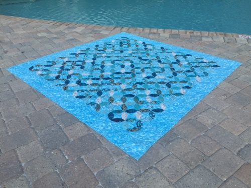 Image of Quilt Near Pool