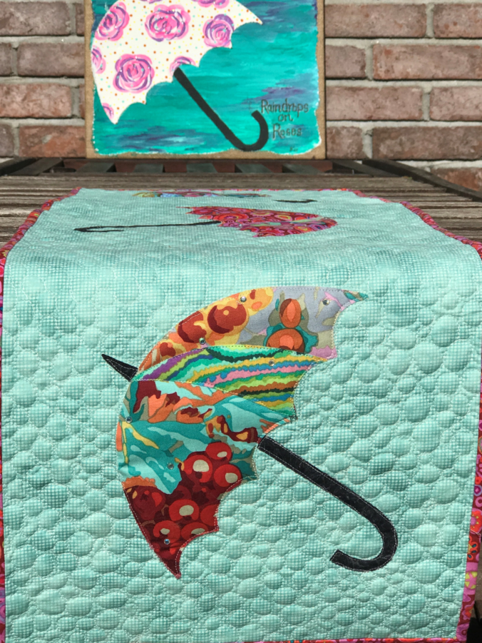 Image of Quilted Tablerunner