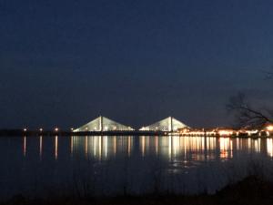 Image of Lighted Bridge