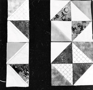 Image of Chain Piecing a Quilt Block