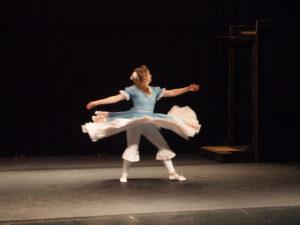 Image of Dancer Spinning