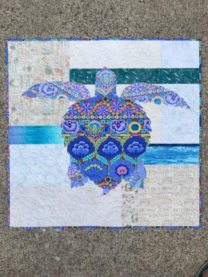 Image of Sea Turtle Quilt
