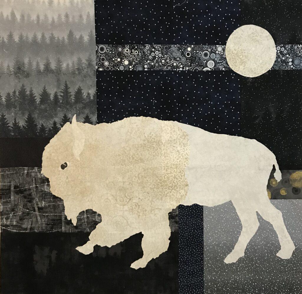 Image of White Buffalo quilt.