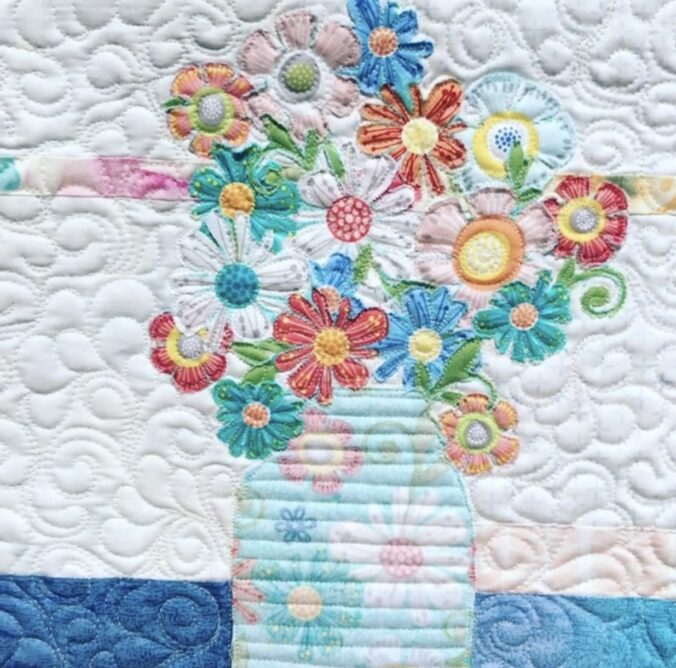 Mini Bouquet Quilt