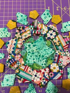 An example of occasional quilting!