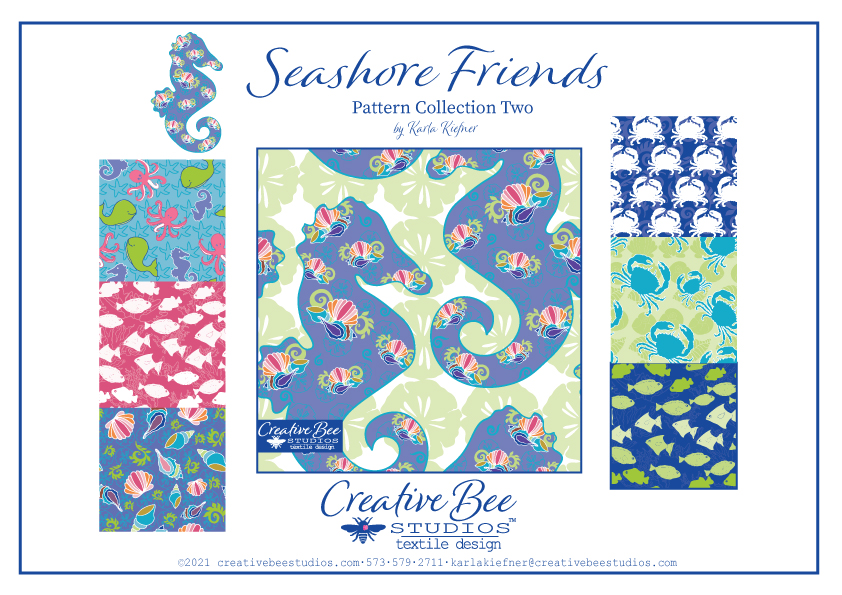Image of Seashore Friends Collection Two