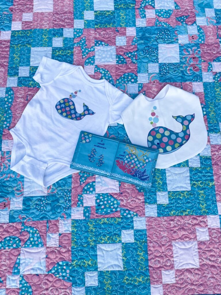 image of babyquilt and merchandise