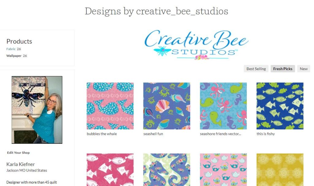 Image of shop page