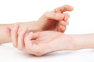Gentle acupuncture wrist