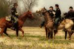 Riding horses Civil War