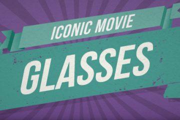 Iconic Movie Glasses [Infographic]