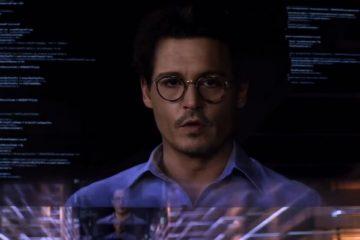 Image of Johnny Depp from Transcendence 2014