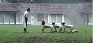 THE HUMAN CENTIPEDE [2009]