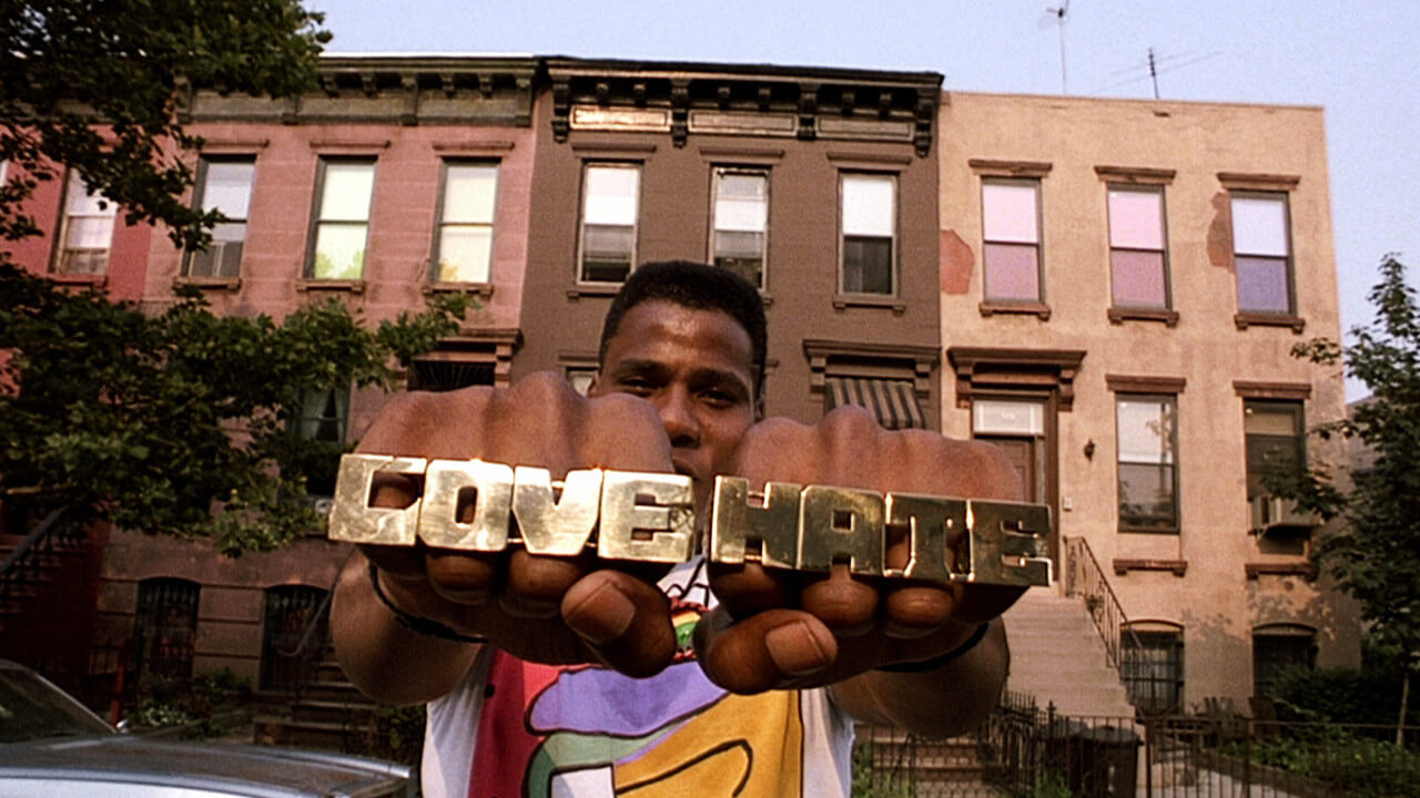 do the right thing love hate rings film essay