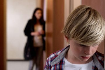 Image from the film Custody (Jusquà la garde)