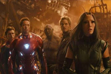 """Image of the cast from Marvel film, """"Avengers Infinity War"""""""