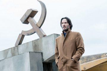 """Image of Keanu Reeves in the movie """"Siberia"""""""