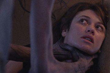 Olga Kurylenko in sleep paralysis focused horror film 'Mara'