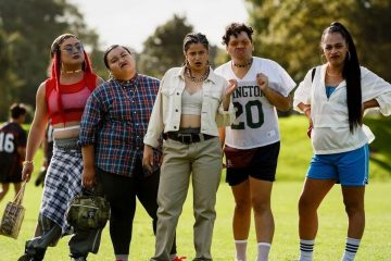 """Image from the New Zealand comedy-romance film """"The Breaker Upperers"""""""
