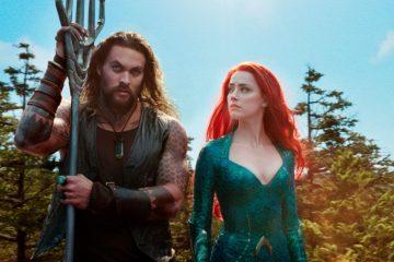 Image of Jason Momoa and Amber Heard from Aquaman (2018)