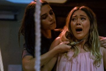 Image of Hilary Duff from horror film 'The Haunting of Sharon Tate'