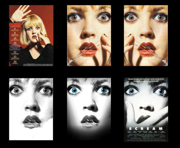 Drew Barrymore - Scream (1996) poster