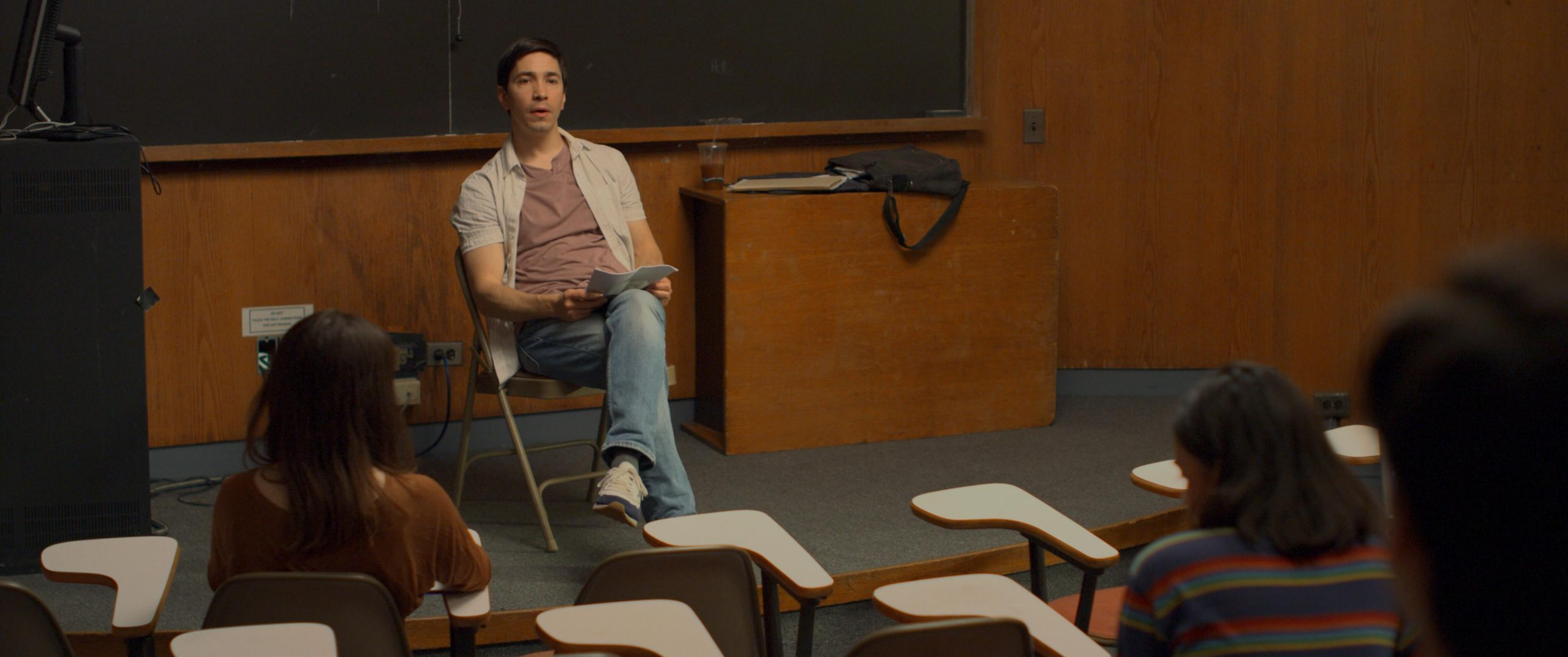 Justin Long in After Class