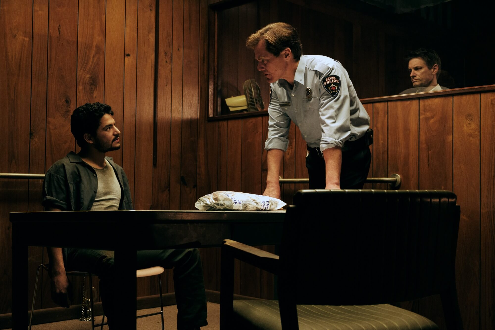 Michael Shannon and Bobby Soto