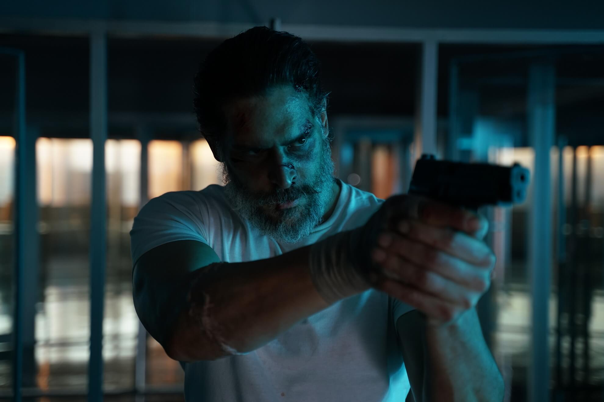 oe Manganiello as Max Fist in the actionthriller film Archenemy