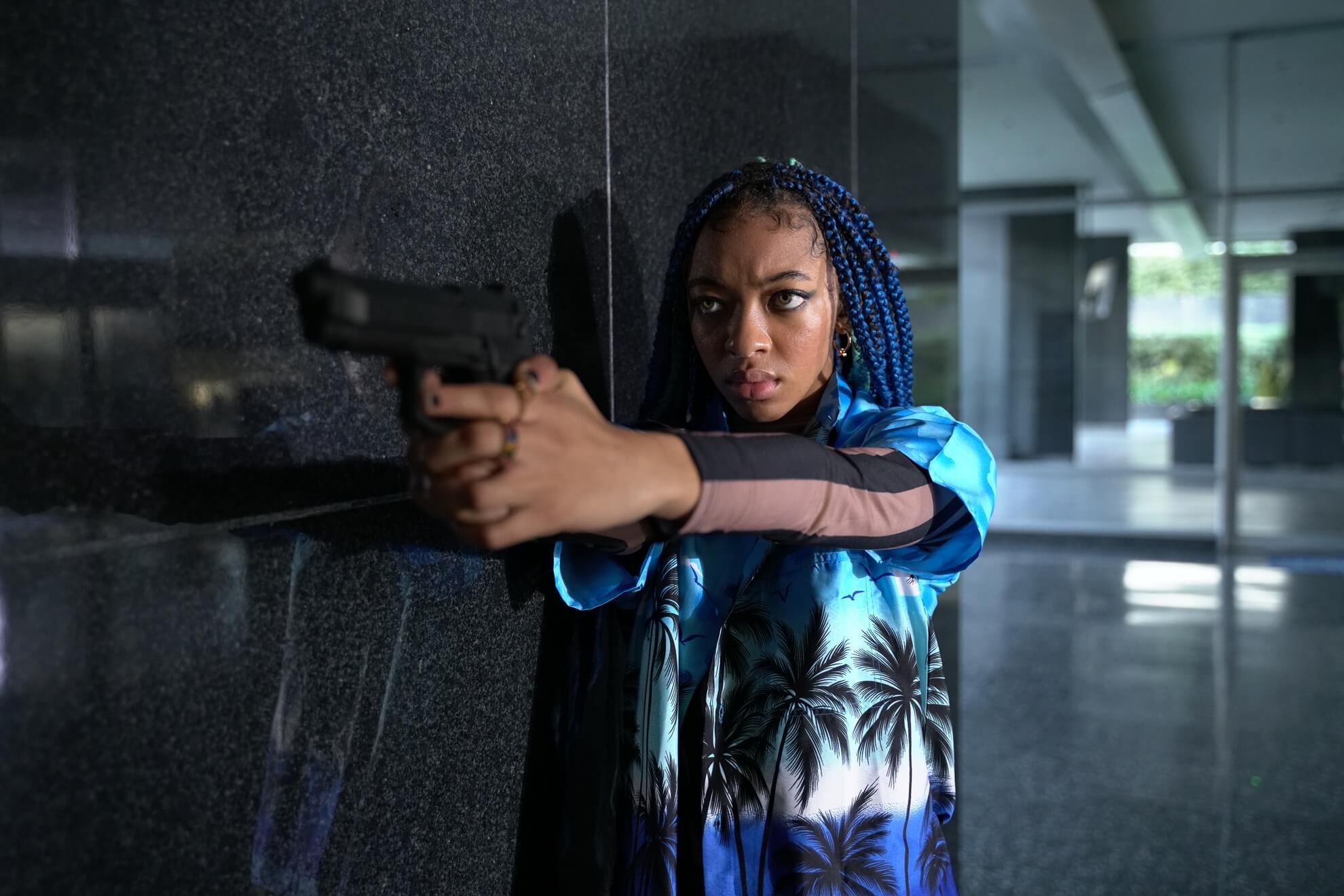 Zolee Griggs as Indigo in Archenemy