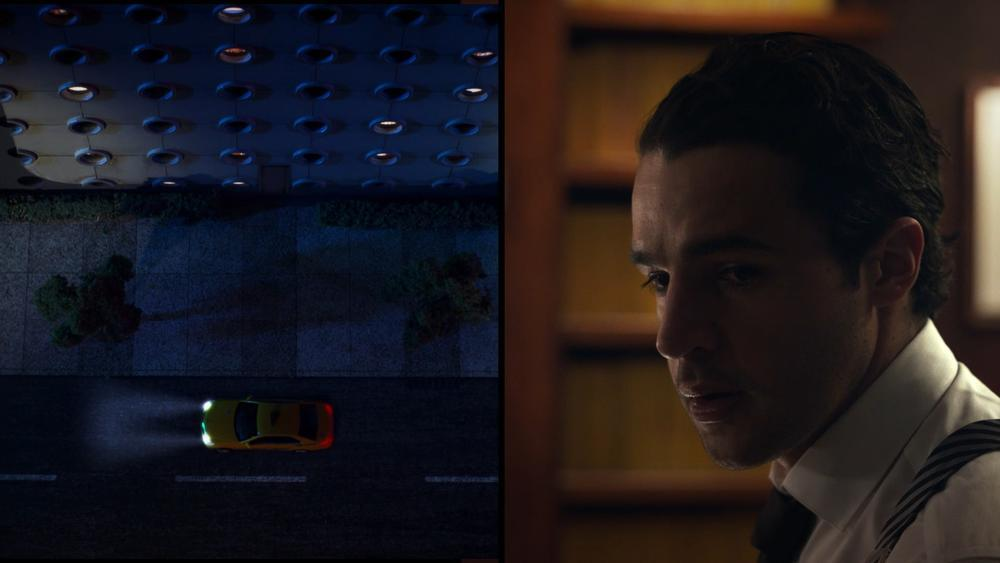 Film Still from Piercing (2018)