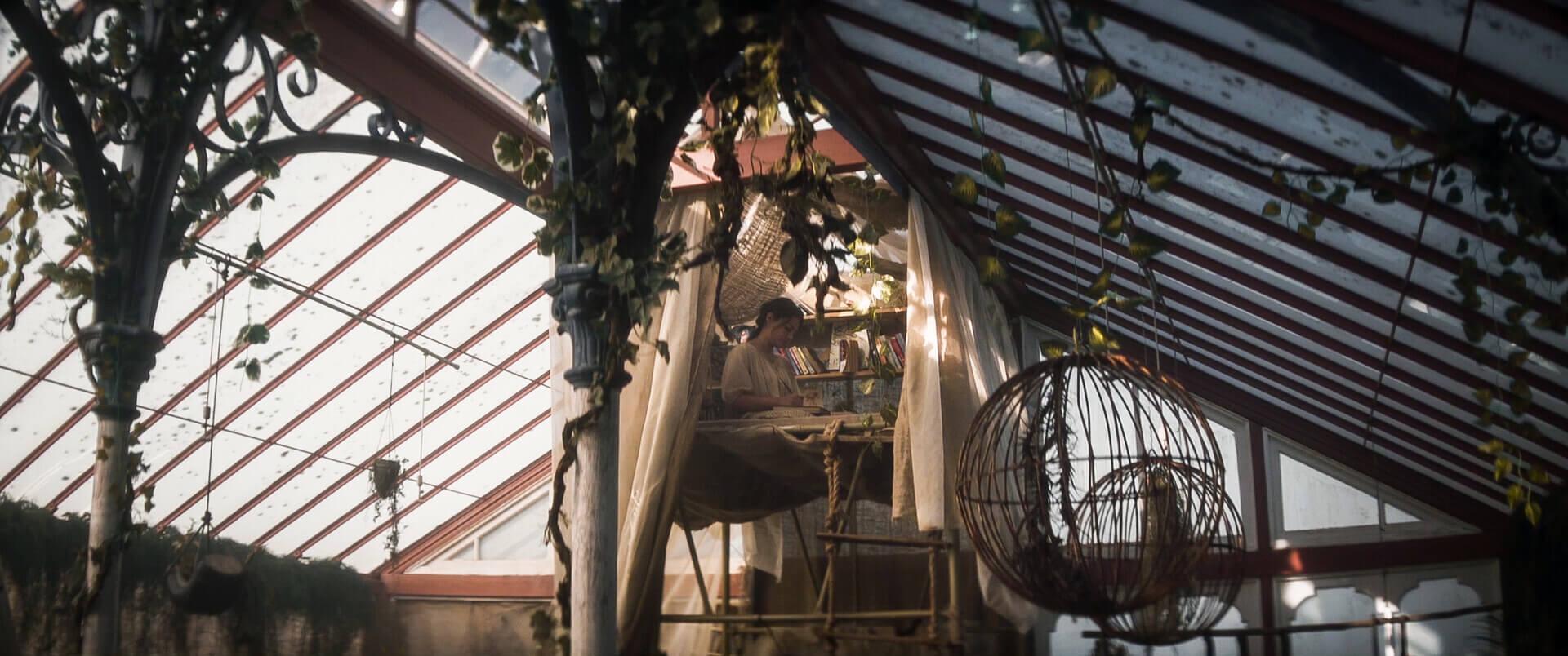 Glasshouse - inside of the glasshouse